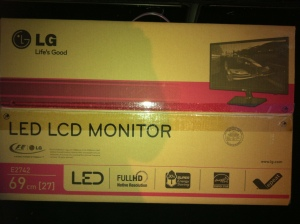 New LG PC Monitor